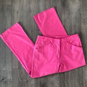 Lilly Pulitzer Pink Cropped Pants